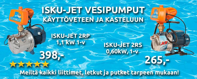 Isku-Jet vesipumput Mr. LVIltä!