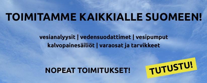 Mr. LVI toimittaa tilaukset kaikkialle Suomeen!